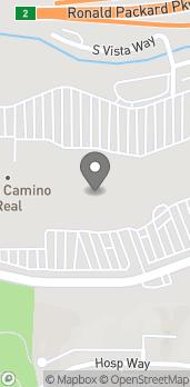 Map of 2525 El Camino Real in Carlsbad