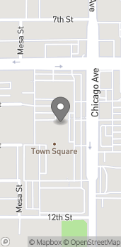 Map of 3977 Chicago Ave in Riverside