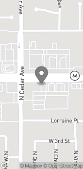 Map of 1255 W Foothill Blvd in Rialto