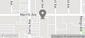 Map of 8909 Sierra Avenue in Fontana