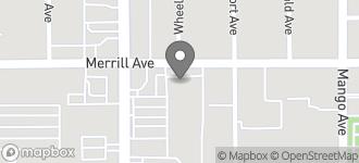 Map of 8909 Sierra Avenue in Fontana