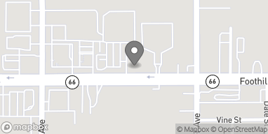 Map of 16232 Foothill Blvd in Fontana