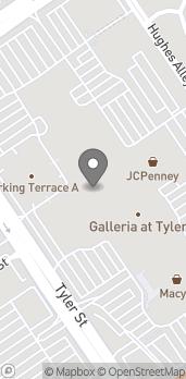 Mapa de 1180 Tyler Street en Riverside