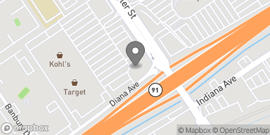 Map of 3502 Tyler Street in Riverside