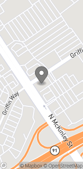 Map of 2210 Griffin Way in Corona