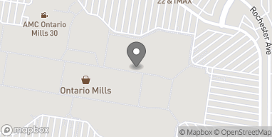 Map of One Mills Circle in Ontario
