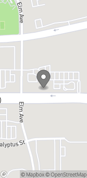Mapa de 11144 Foothill Blvd en Rancho Cucamonga