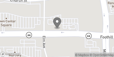 Map of 11144 Foothill Blvd in Rancho Cucamonga
