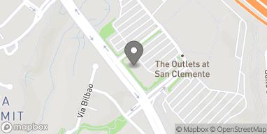 Map of 225 West Avenida Vista Hermosa in San Clemente