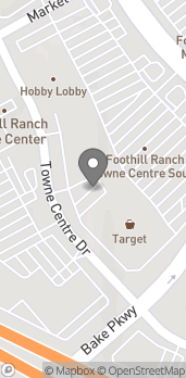 Mapa de 26756 Portola Pkwy en Foothill Ranch
