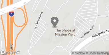 Map of 184 Shops at Mission Viejo in Mission Viejo