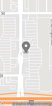 Map of 320 S Mountain Ave in Upland