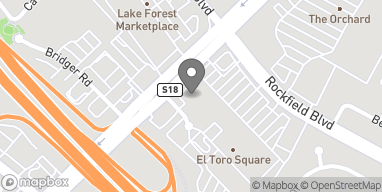 Map of 23842 El Toro Rd in Lake Forest