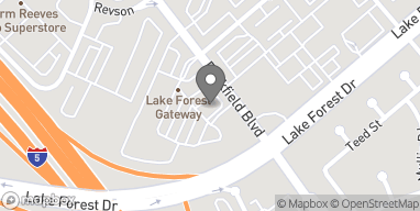 Mapa de 23622 Rockfield Blvd en Lake Forest