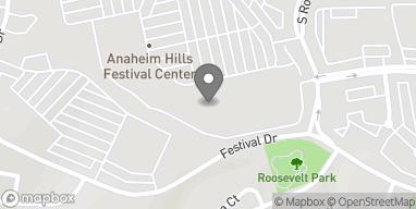 Mapa de 8132 East Santa Ana Canyon Rd en Anaheim