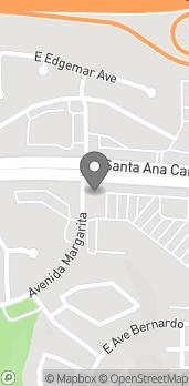 Map of 5550 E Santa Ana Canyon Rd in Anaheim