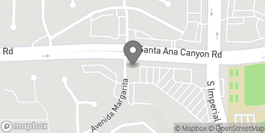 Map of 5550 E Santa Ana Canyon Rd in Anaheim