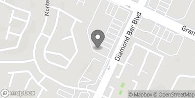 Map of 1257 S Diamond Bar Blvd in Diamond Bar