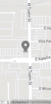 Mapa de 1302 N Tustin Ave en Orange
