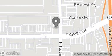 Mapa de 1302 N Tustin Street en Orange