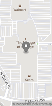 Map of 1500 E Village Way in Orange