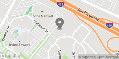 Map of 401 Rockefeller in Irvine