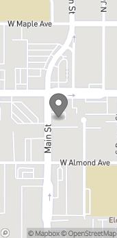 Map of 125 S Main St in Orange