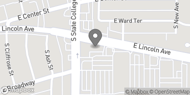 Map of 2008 E. Lincoln Ave in Anaheim