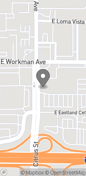 Map of 2620 E Workman Ave in West Covina