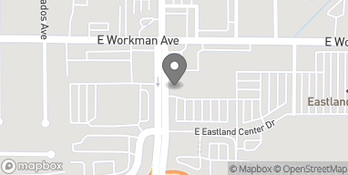 Mapa de 2620 E Workman Ave en West Covina