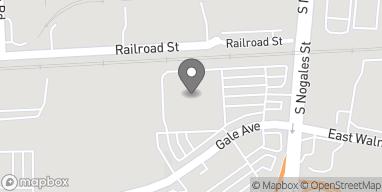 Mapa de 1015 S. Nogales St en Rowland Heights