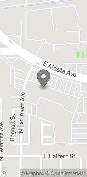 Map of 822 E Alosta Ave in Azusa