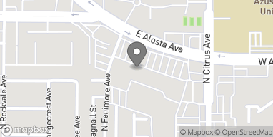 Map of 822 E Alosta Ave in Azusa