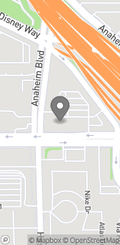 Map of 131 E Katella Ave in Anaheim