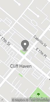 Mapa de 298 E 17th St en Costa Mesa