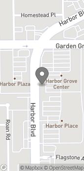 Map of 13102 Harbor Blvd in Garden Grove