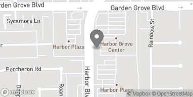 Map of 13102 Harbor Blvd in Garden Grove