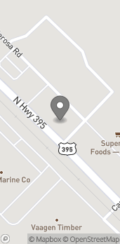Map of 1384 N US-395 in Colville