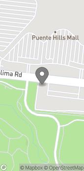 Mapa de 17342 Colima Rd en Rowland Heights