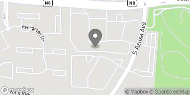 Mapa de 17134 Colima Rd en Hacienda Heights
