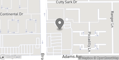 Map of 10035 Adams Ave in Huntington Beach