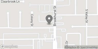 Mapa de 791 S Brookhurst Street en Anaheim