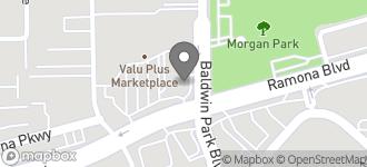 Map of 14155 Ramona Blvd. in Baldwin Park
