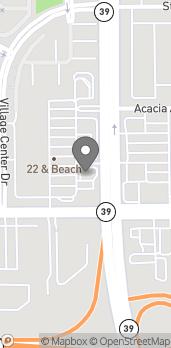 Map of 12979 Beach Boulevard in Stanton