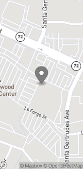 Map of 15714 Whittwood Lane in Whittier