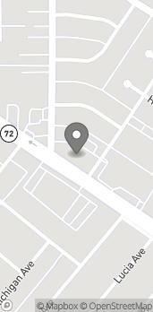 Map of 13809 E Whittier Blvd in Whittier
