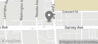 Map of 10967 Garvey Avenue in El Monte