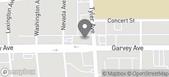 Map of 10967 Garvey Avenue in El Monte