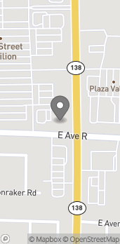 Map of 38003 47th St E in Palmdale
