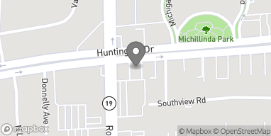 Map of 9020 Huntington Dr in San Gabriel